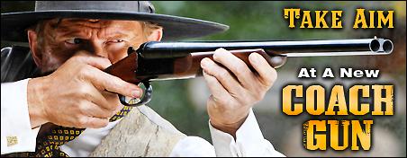 Stoeger Coach Gun Banner