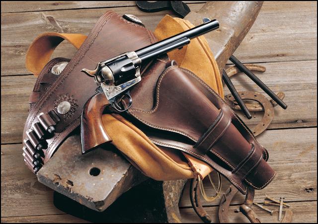 Colt cowboy single-action army saa revolver